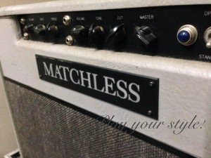 Volume nob matchless